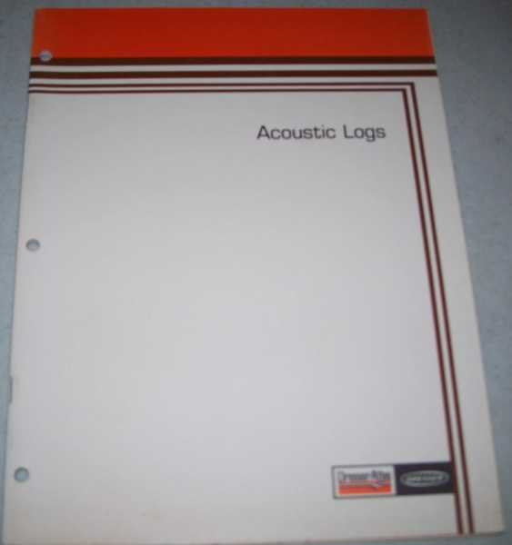 Acoustic Logs (Dresser Atlas), N/A