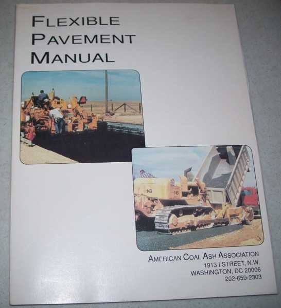 Flexible Pavement Manual, N/A