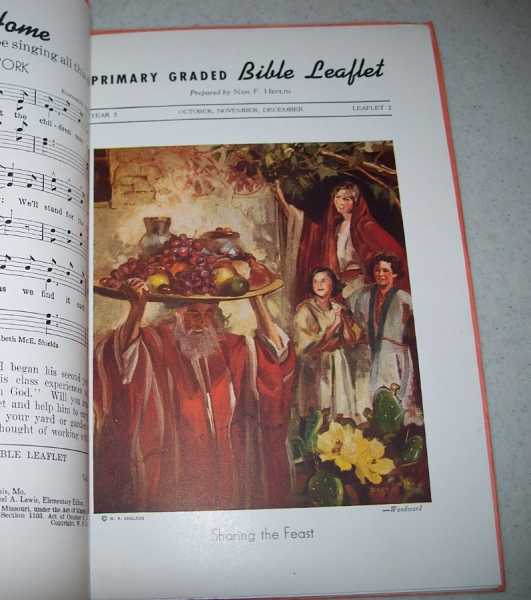 Primary Graded Bible Leaflet Set of 13 Issues: Year 2, Autumn 1941, Heflin, Nan F.