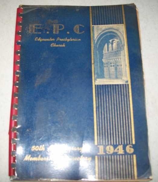 1946 Directory of Members of the Edgewater Presbyterian Church, N/A