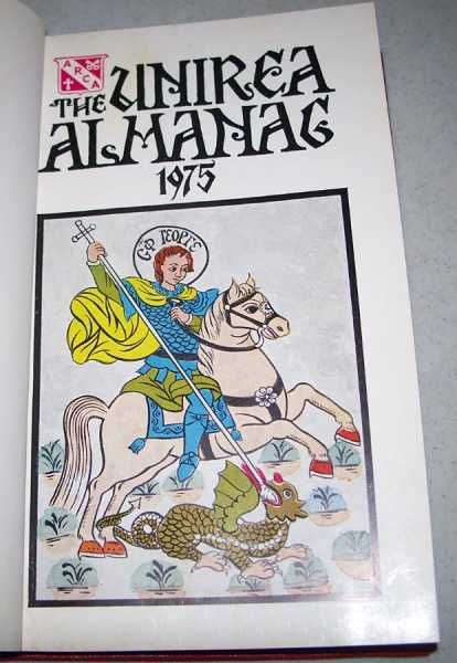 The Unirea Almanac for 1975: Calendarul Unirea pe 1975, N/A
