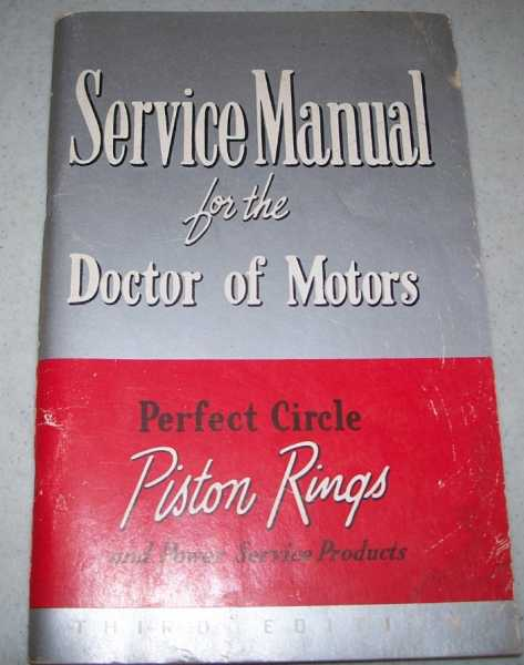 Service Manual for the Doctor of Motors, Third Edition, N/A