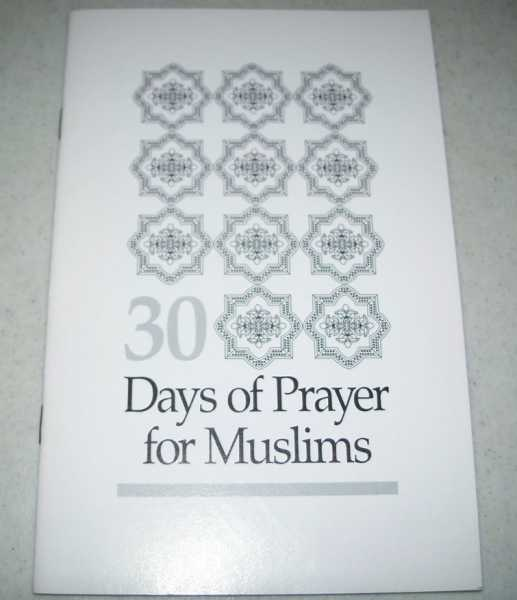 30 Days of Prayer for Muslims, N/A