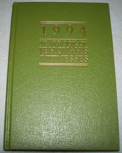 1994 Yearbook of Jehovah's Witnesses, Containing Report for the Service Year of 1993, also Daily Texts and Comments, N/A