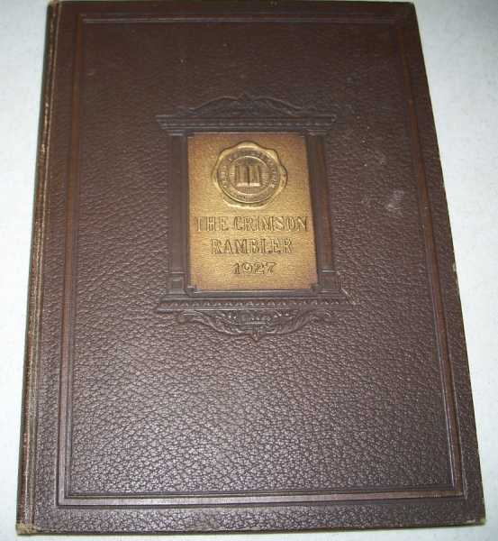 1927 Crimson Rambler: Carthage College Yearbook (Illinois), N/A