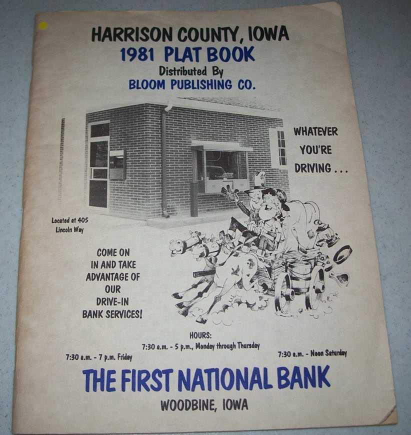 Harrison County, Iowa 1981 Plat Book, N/A