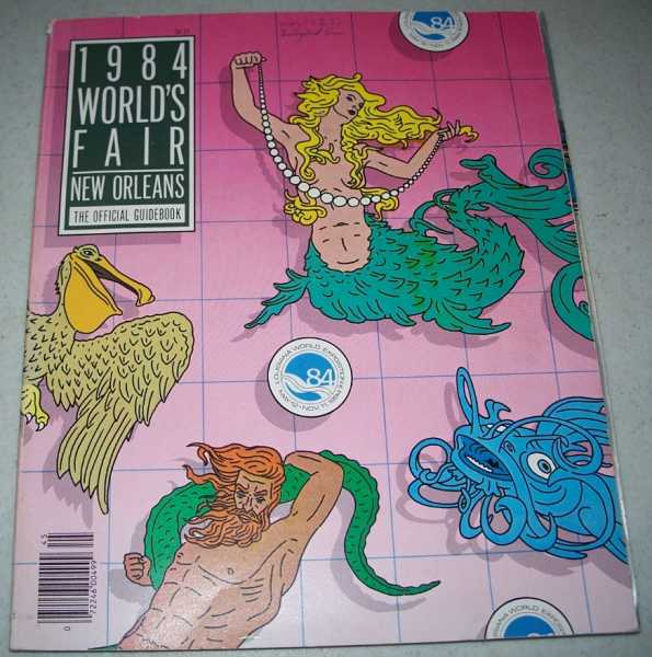 1984 World's Fair New Orleans, The Official Guidebook, N/A