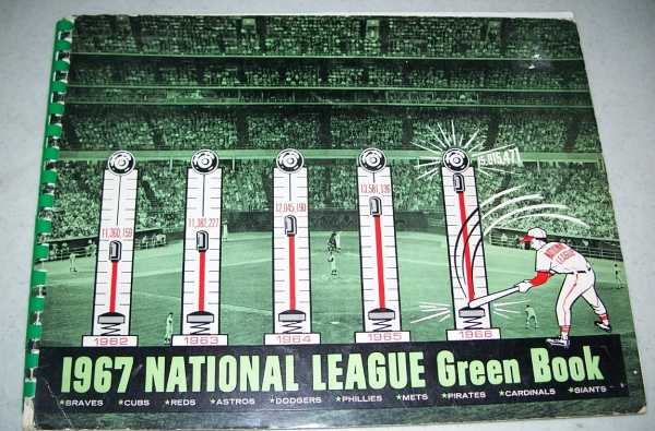 1967 National League Green Book, Grote, Dave (ed.)
