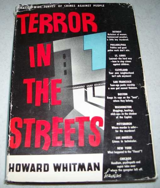 Terror in the Streets, Whitman, Howard