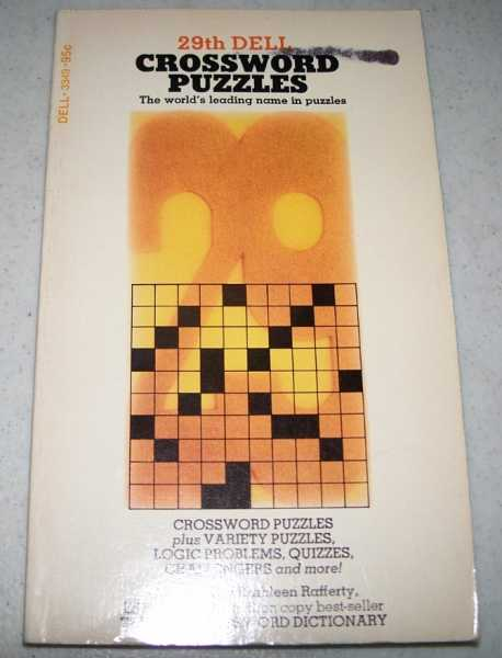 29th Dell Crossword Puzzles, Rafferty, Kathleen