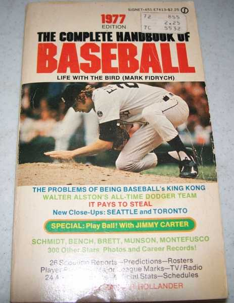 The Complete Handbook of Baseball, 1977 Edition, Hollander, Zander (ed.)