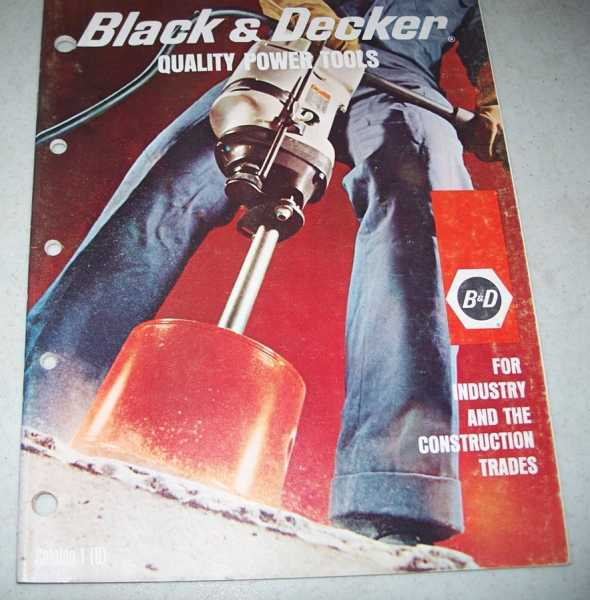 Black & Decker Power Tools Catalog 1 (U) 1969, N/A