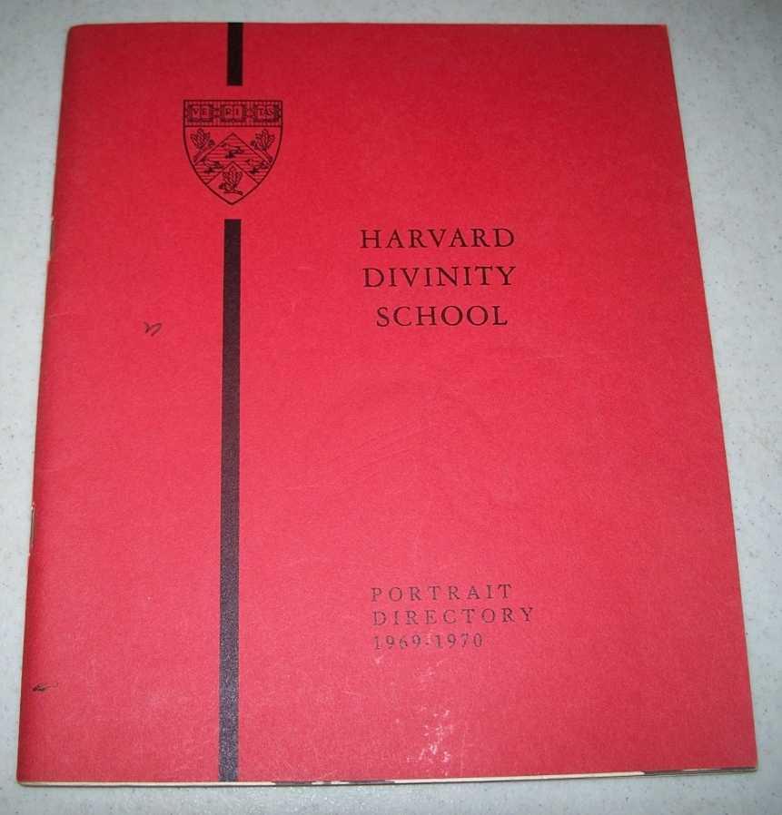 Harvard Divinity School Portrait Directory 1969-1970, N/A