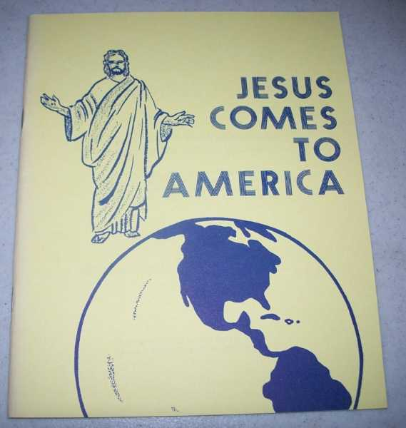 Jesus Comes to America: A Story from the Book of Mormon for Children to Read and Color, Various