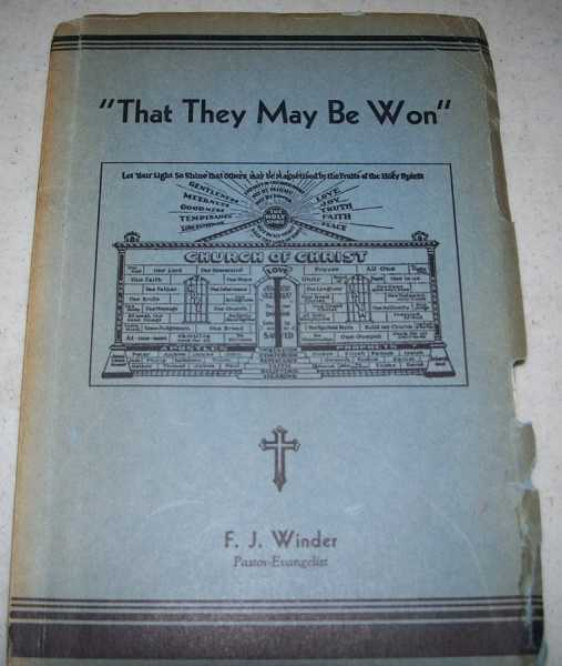 That They May Be Won, Winder, Francis Joseph