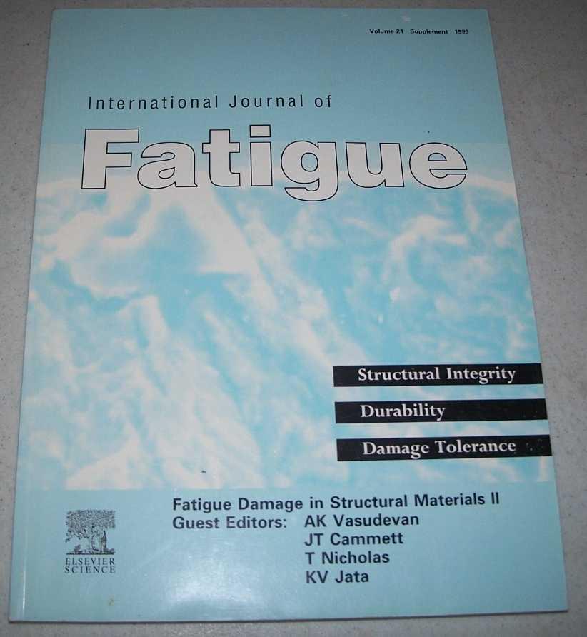 International Journal of Fatigue Volume 21 Supplement, Various
