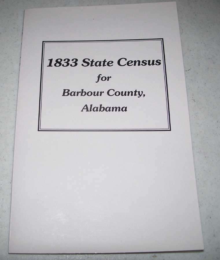1833 State Census for Barbour County, Alabama, Foley, Helen S.