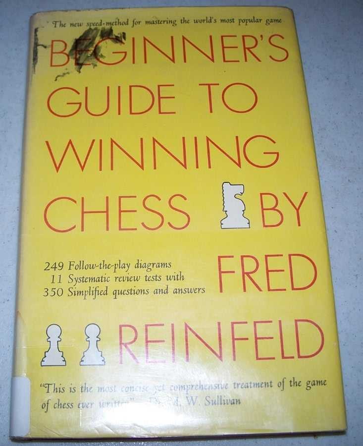 Beginner's Guide to Winning Chess, Reinfeld, Fred