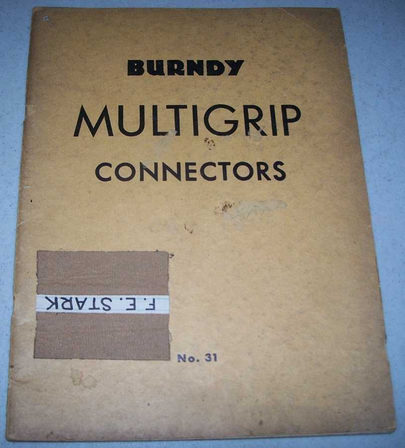 Burndy Multigrip Connectors for the Indoor or Well Supported Bus No. 31, N/A