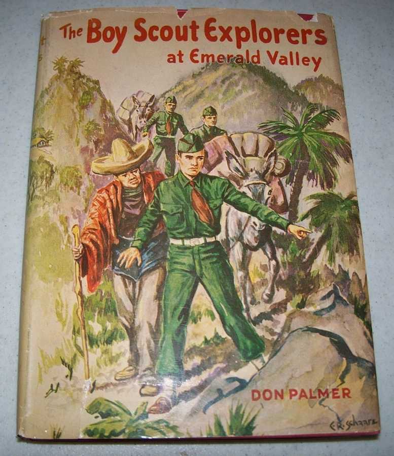 Boy Scout Explorers at Emerald Valley, Palmer, Don