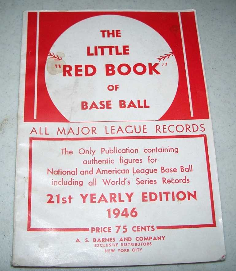 The Little Red Book of Base Ball 1946 Edition, N/A