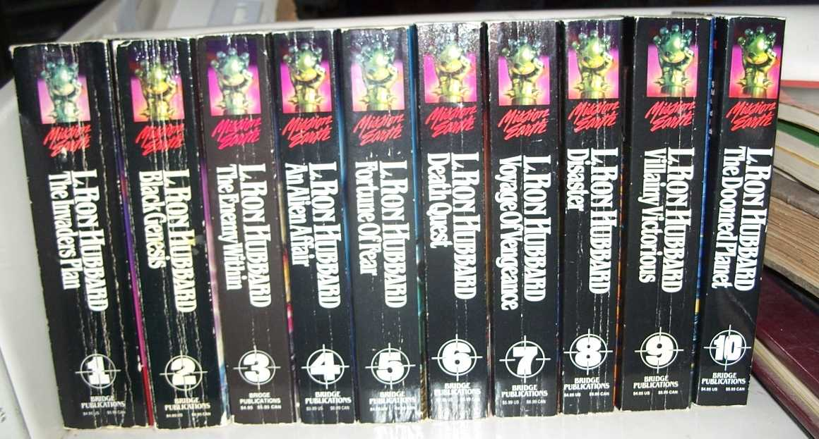 Mission Earth series, Complete in 10 Volumes, Hubbard, L. Ron