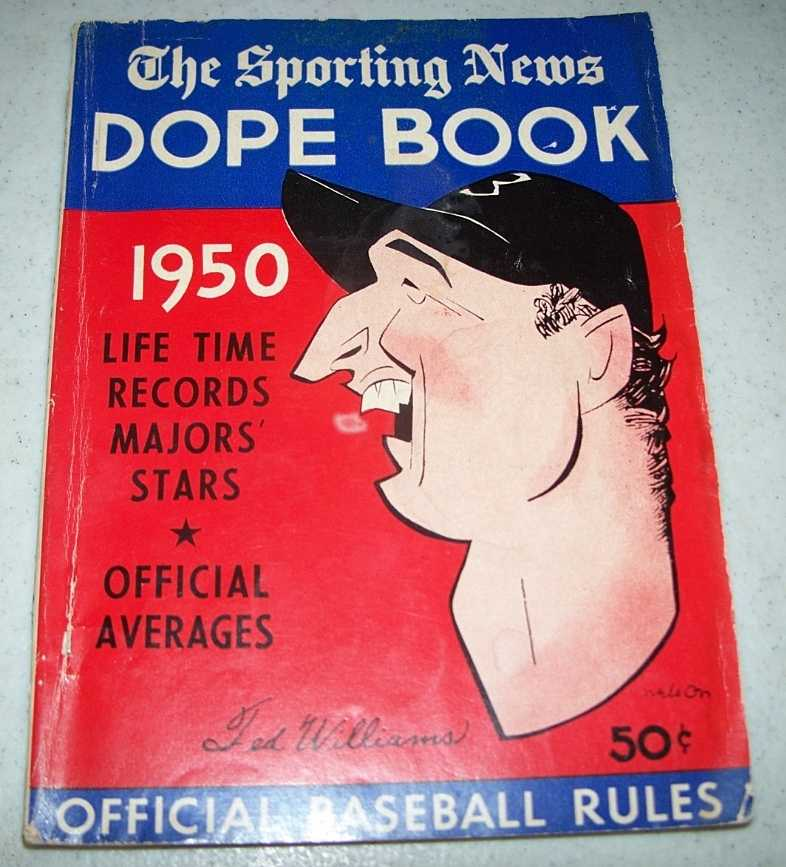 The Sporting News Dope Book 1950, Spink, J.G. Taylor