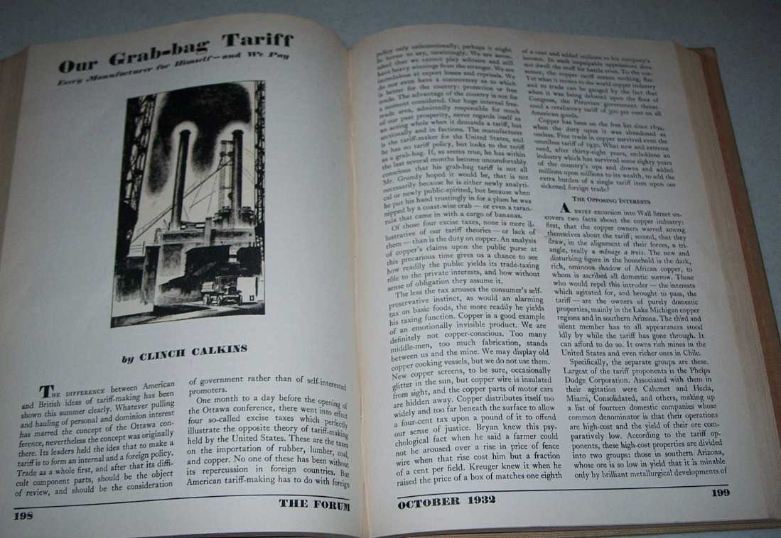 The Forum Magazine Volume 88, July-December 1932, Bound in One Volume, Various