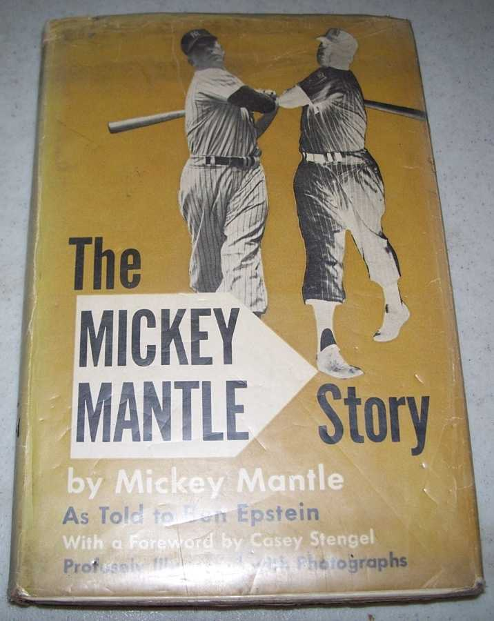 The Mickey Mantle Story, Mantle, Mickey with Epstein, Ben