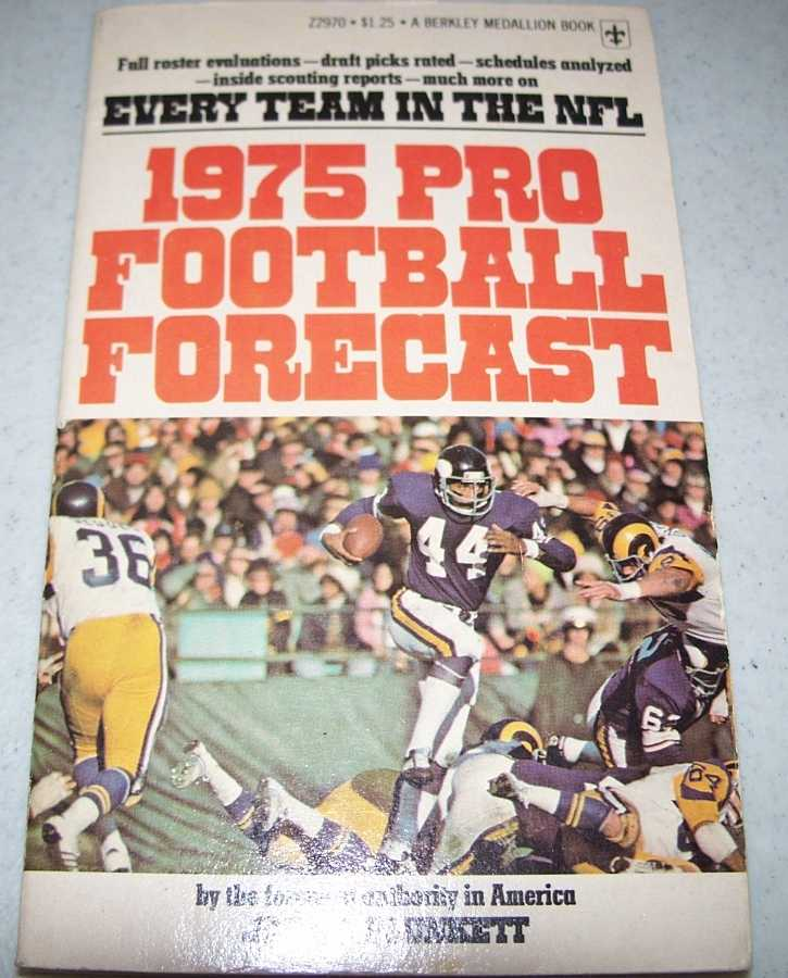 1975 Pro Football Forecast, Plunkett, John J.