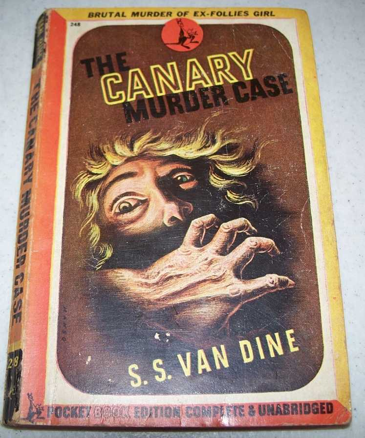 The Canary Murder Case, Van Dine, S.S.