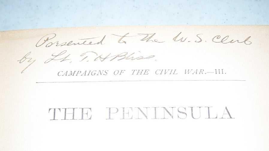 The Peninsula: McClellan's Campaign of 1862 (Campaigns of the Civil War Volume III), Webb, Alexander S.