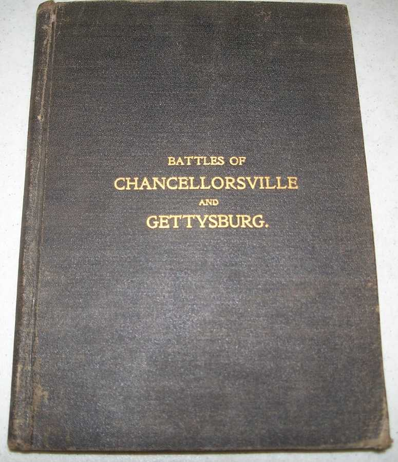 The Battles of Chancellorsville and Gettysburg, Nelson, Capt. A.H.