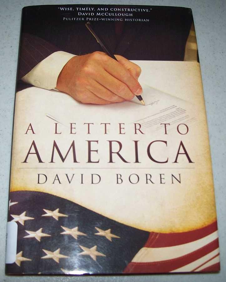 A Letter to America, Boren, David