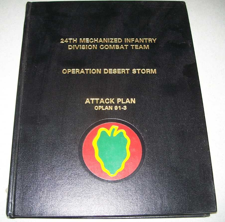 24th Mechanized Infantry Division Combat Team, Operation Desert Storm, Attack Plan Oplan 91-3, N/A
