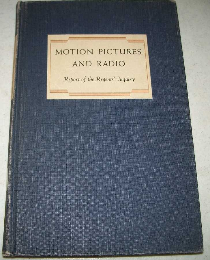 Motion Pictures and Radio: Modern Techniques for Education, Laine, Elizabeth