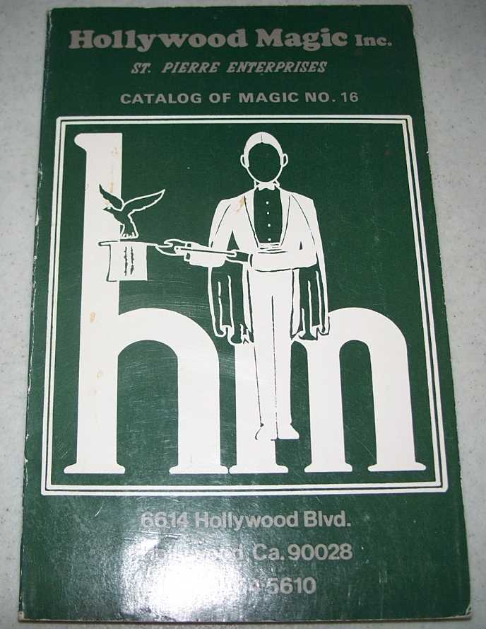 Hollywood Magic Inc. Catalog of Magic No. 16, N/A