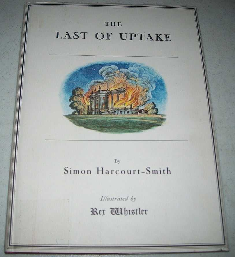 The Last of Uptake or the Estranged Sisters, Harcourt-Smith, Simon