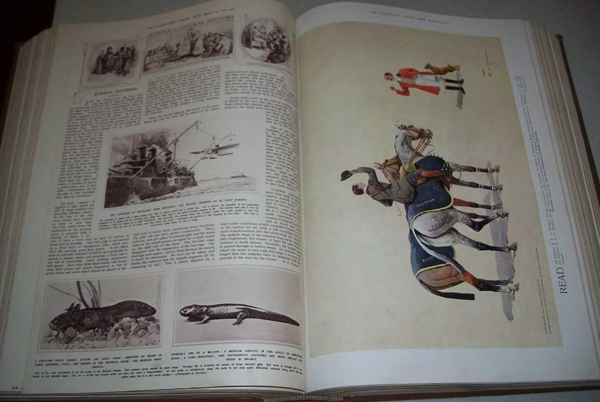 The Illustrated London News Volume 54, January, 31, 1914-June 13, 1914 Bound Together, N/A