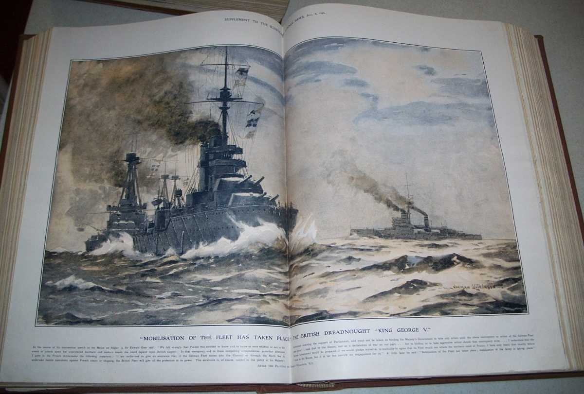 The Illustrated London News Volume 55, July 4, 1914-December 17,, 1914 Bound Together, N/A