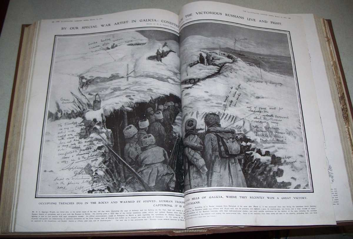 The Illustrated London News Volume 56, January, 9, 1915-June 12, 1915 Bound Together, N/A
