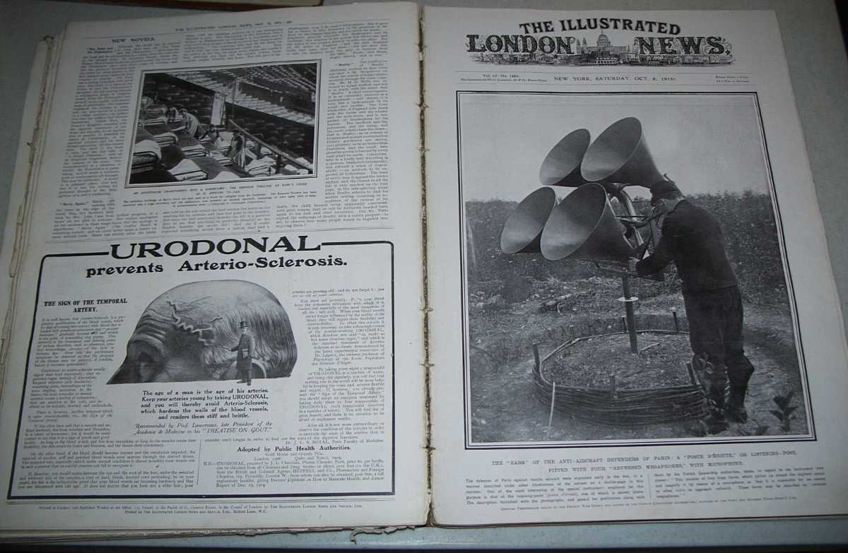 The Illustrated London News  July, 10, 1915-December 11, 1915 Bound Together, N/A