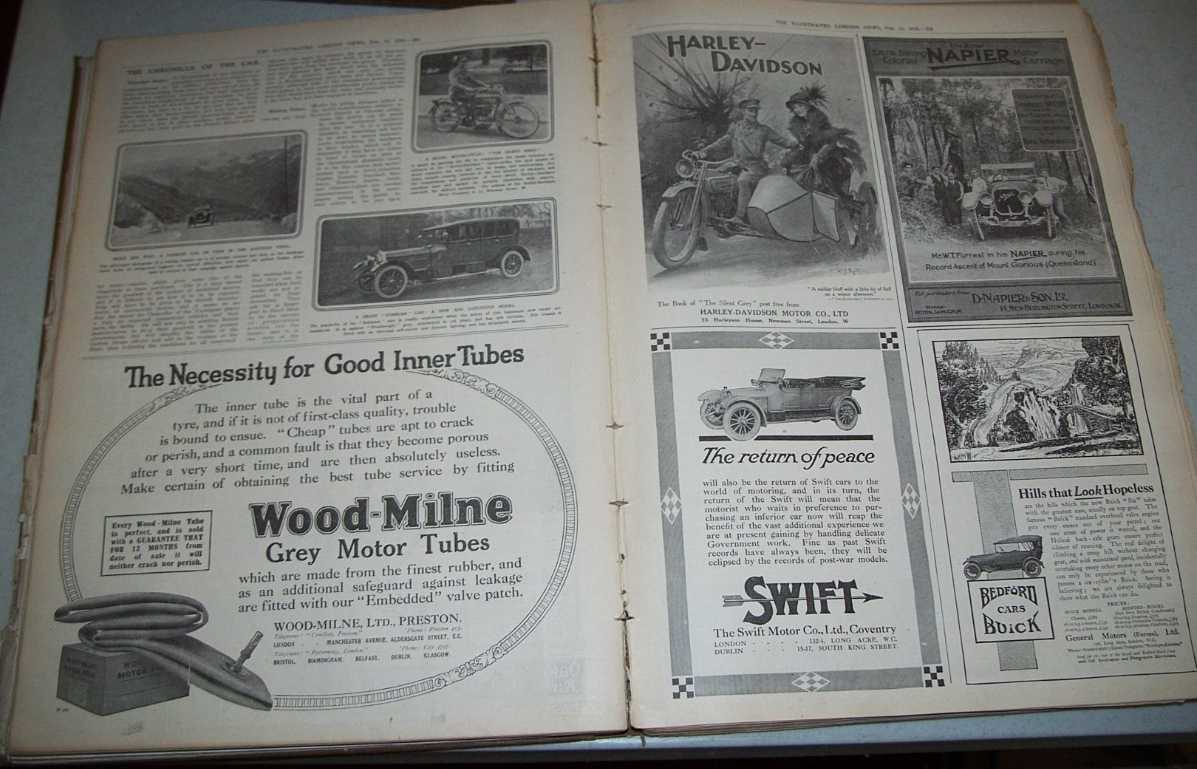 The Illustrated London News January 1, 1916-June 24, 1916 Bound Together, N/A