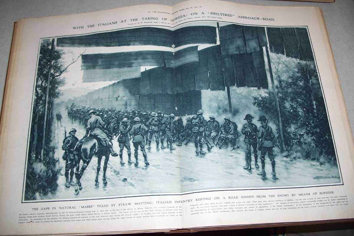 The Illustrated London News July 1, 1916-December 9, 1916 Bound Together, N/A