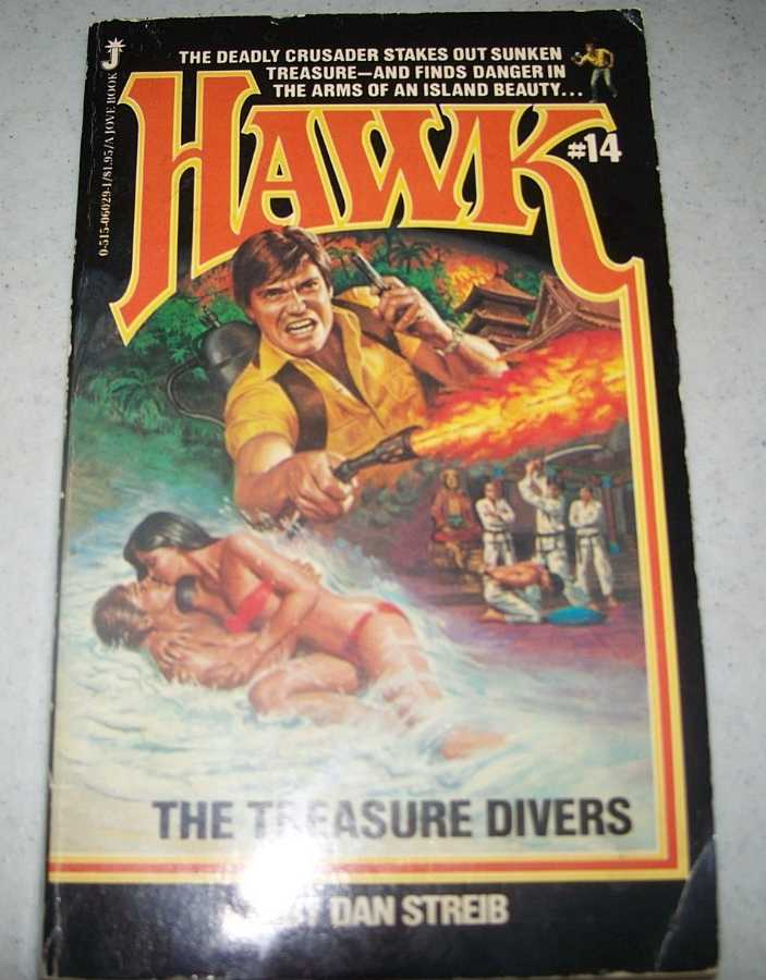 Hawk #14: The Treasure Divers, Streib, Dan