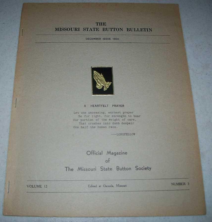 The Missouri State Button Bulletin December 1960, N/A