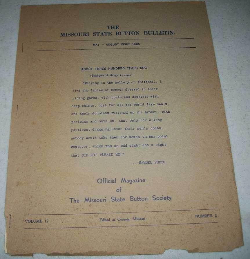 The Missouri State Button Bulletin May-August 1965, N/A