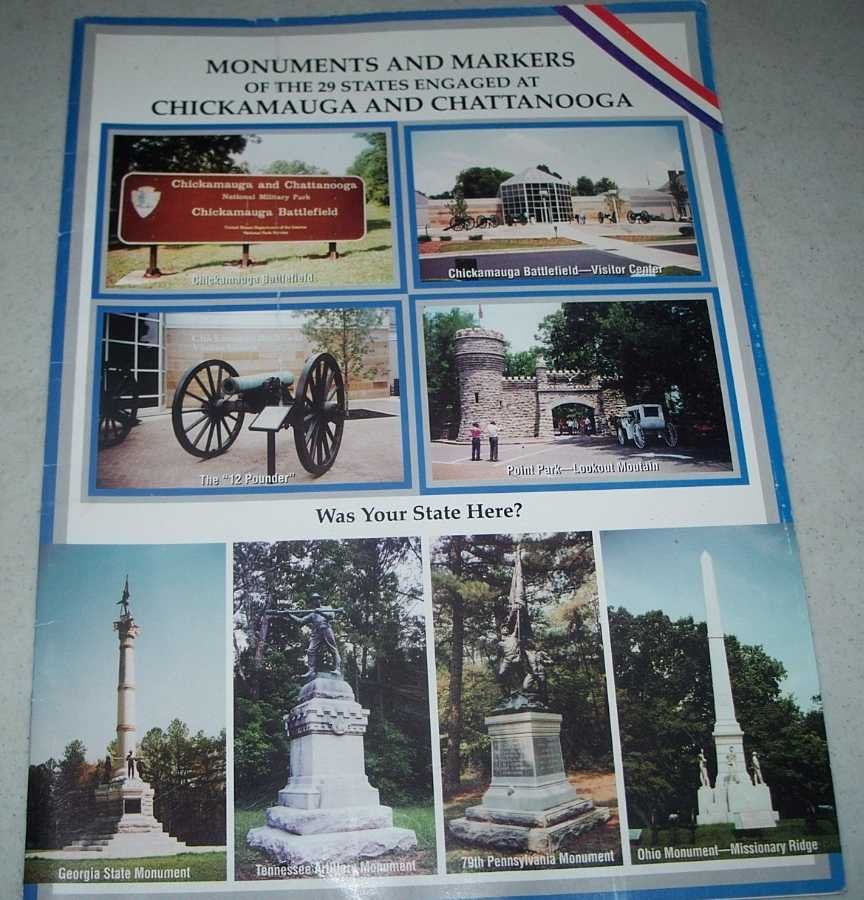 Monuments and Markers of the 29 States Engaged at Chickamauga and Chattanooga, N/A