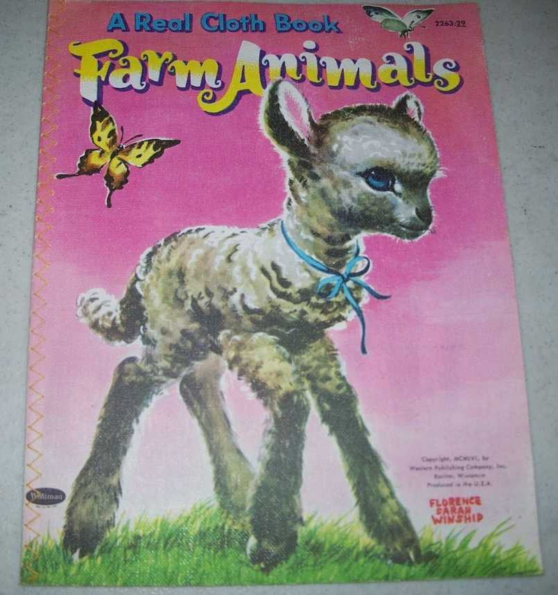 Farm Animals: A Real Cloth Book, Winship, Florence Sarah