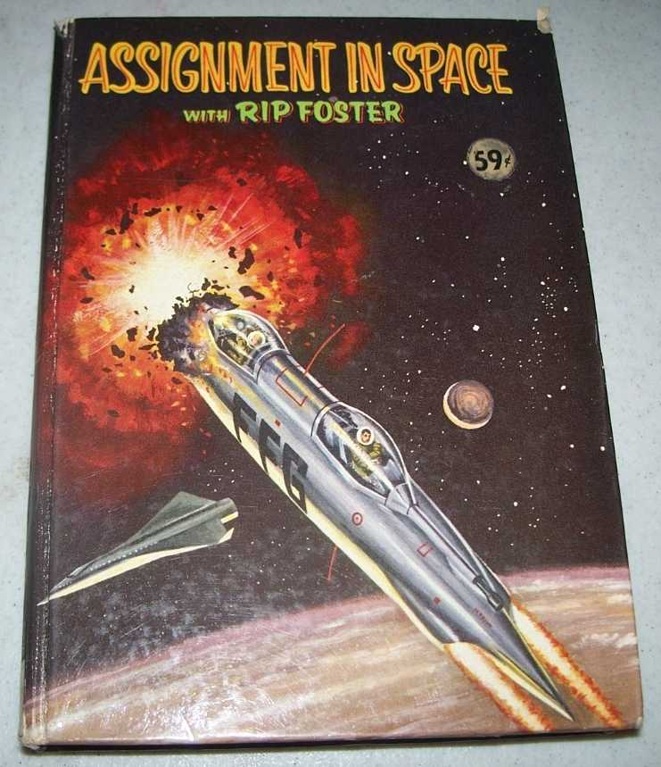 Assignment in Space with Rip Foster, Savage, Blake